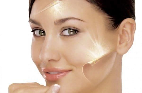 Rajeunissement de la peau Traitement de la pigmentation et l'acné
