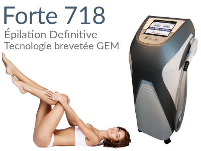 forte 718 Épilation definitive