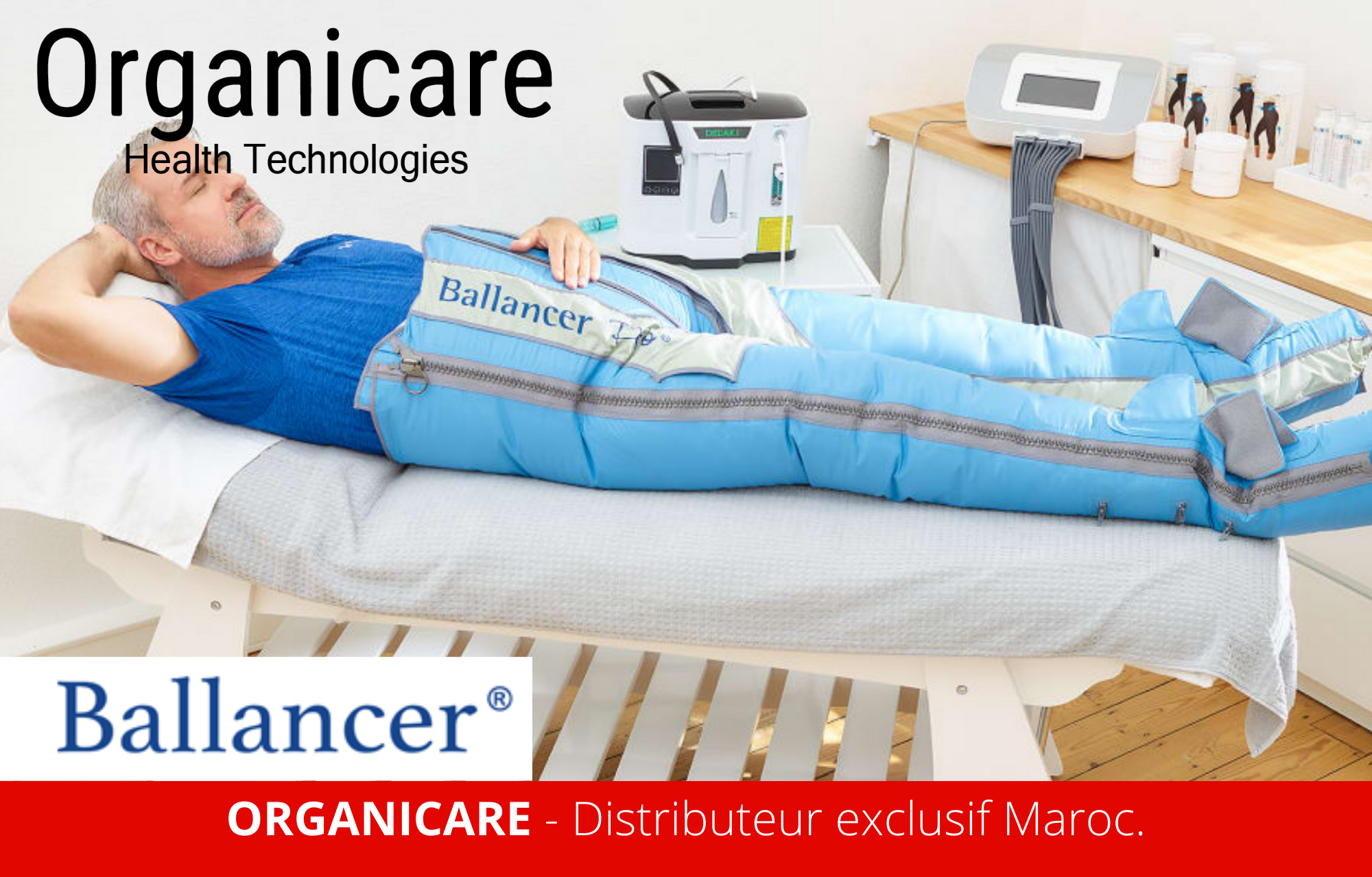 pressotherapie ballancer Distributeur exclusif Maroc.